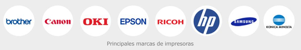 Principales marcas de impresoras