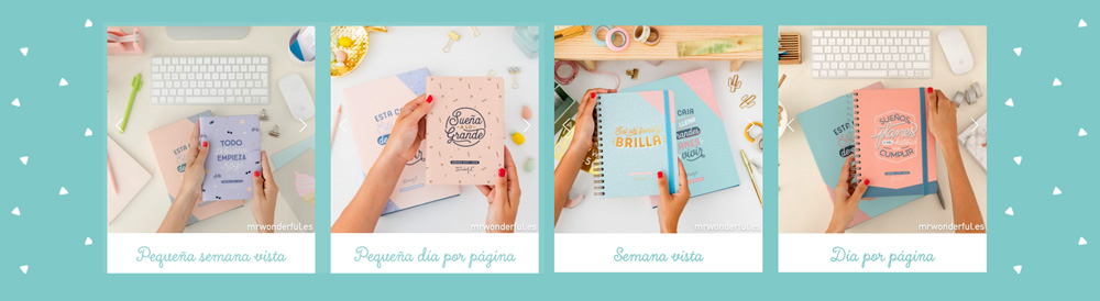 Las agendas escolares Mr. Wonderful son almo más