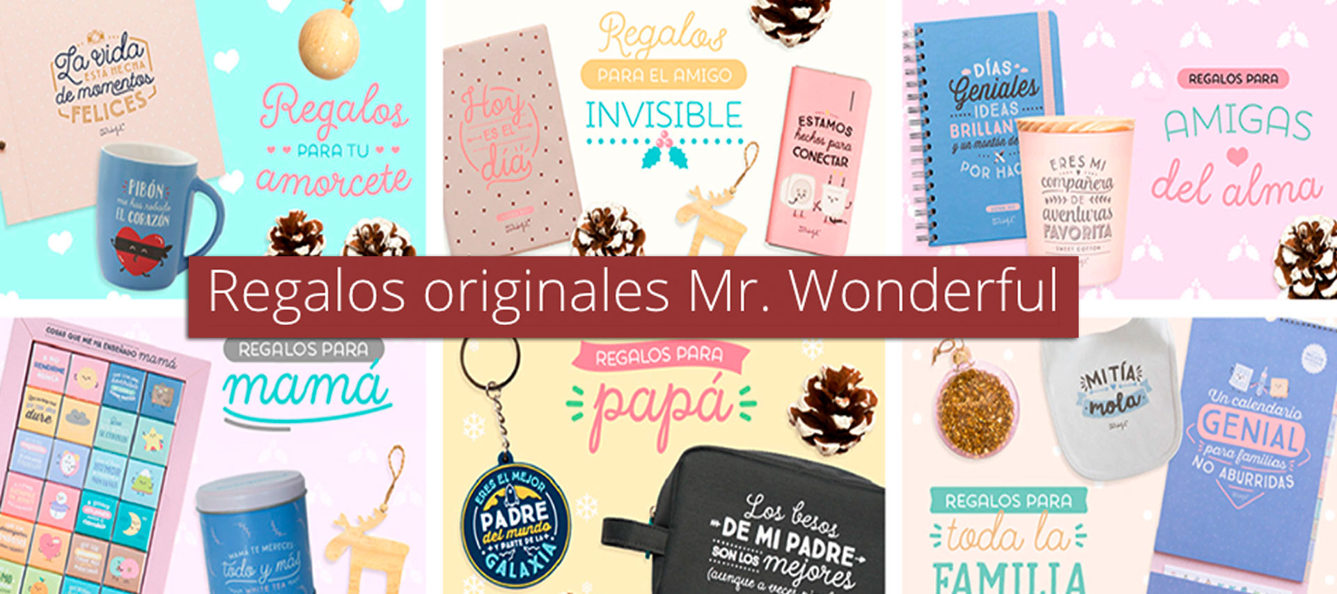 Regalos originales Mr. Wonderful